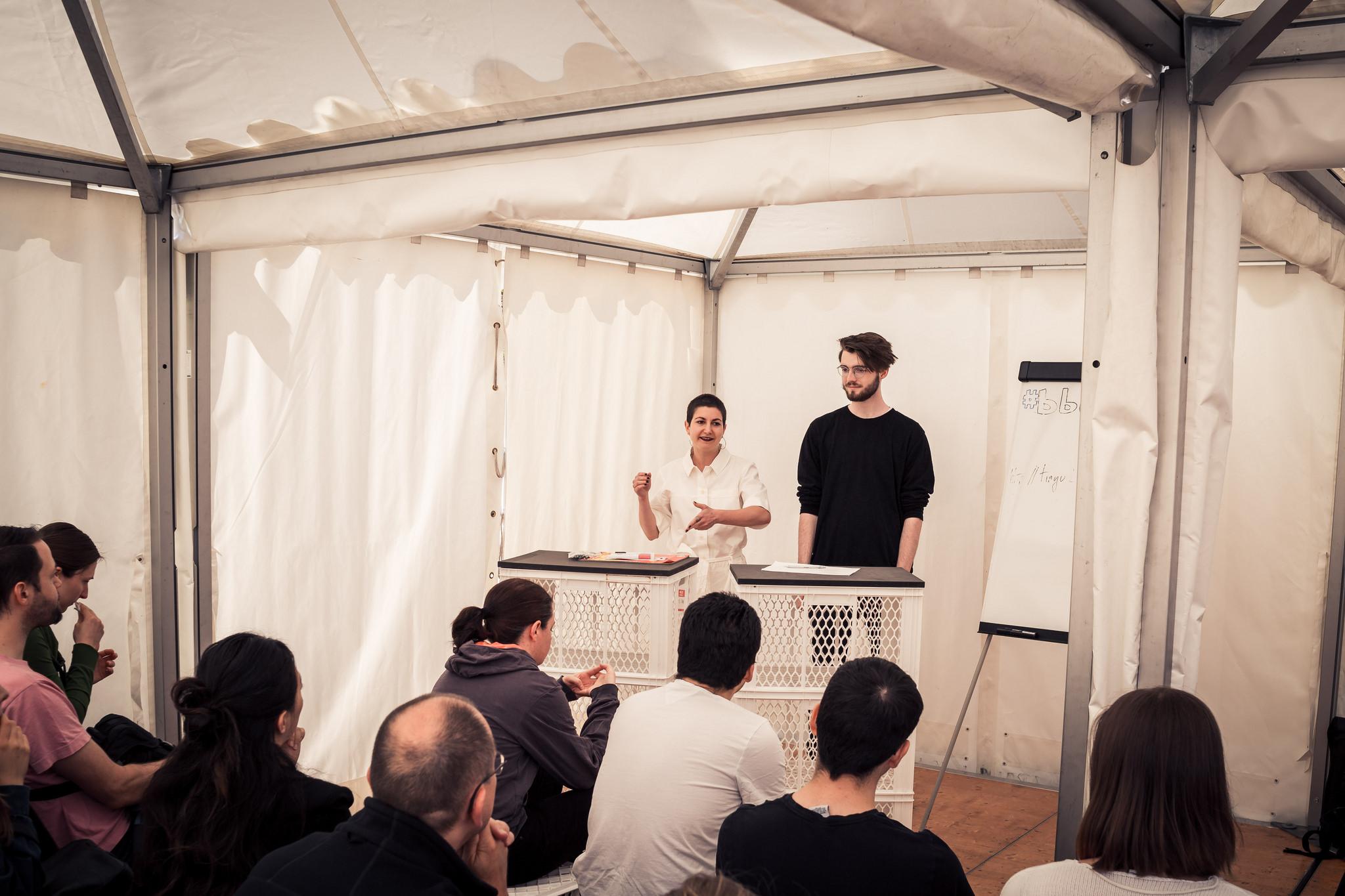 Workshop auf dem Netzfest der re:publica